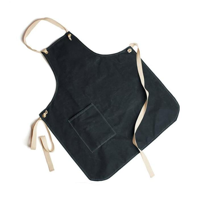 FP Wax Canvas Potting Apron - Slate