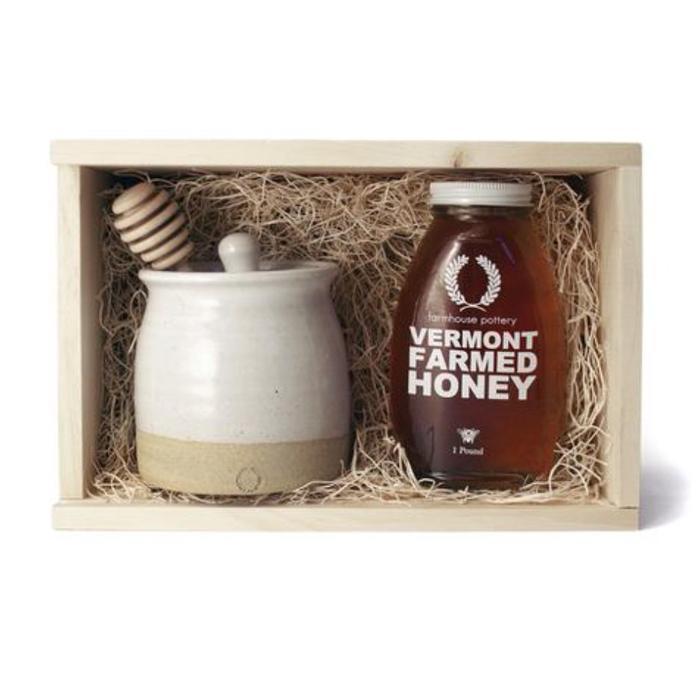 FP Honey & Beehive Honey Pot - Gift Set