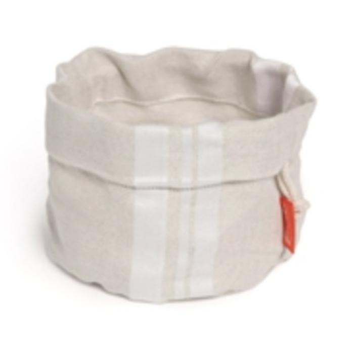 Jean Vier Maia Bread Basket - White & Beige