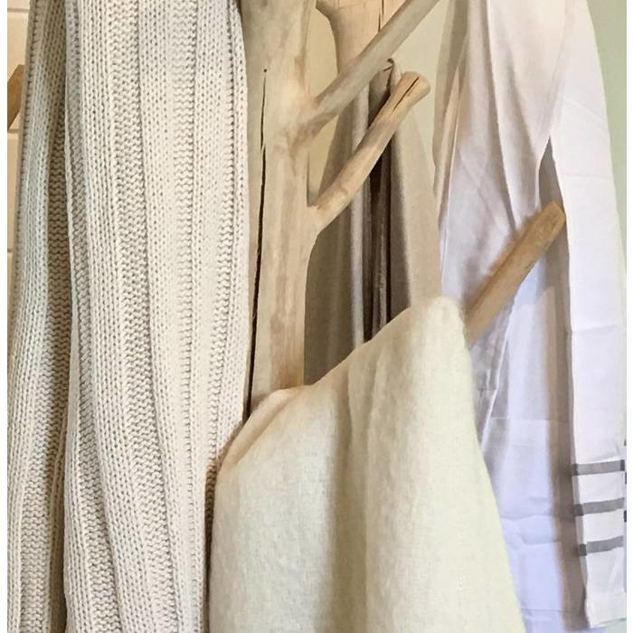 Textiles...from throws, towels, robes to rugs!