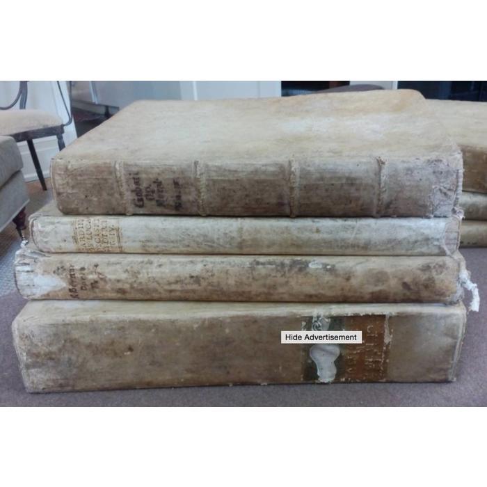 Antique Large vellum book - sold separately