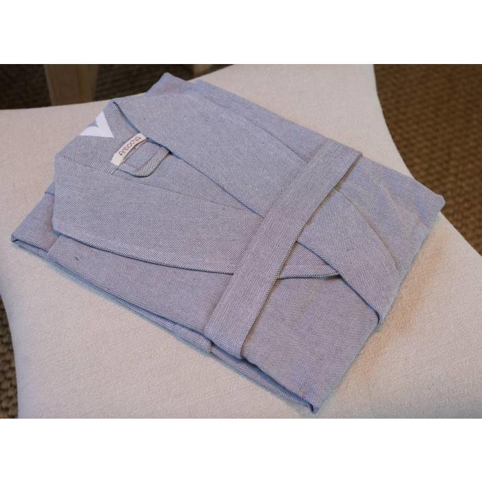 Collection bath robe, gray