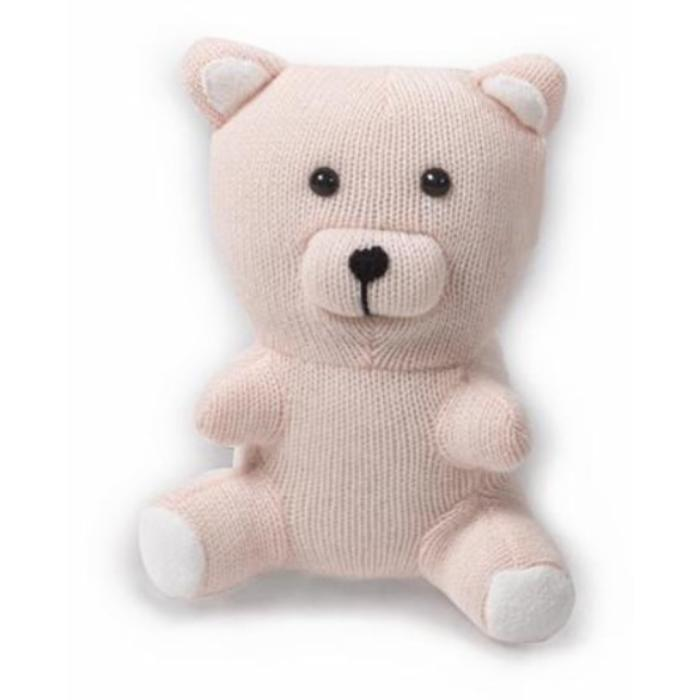 Cashmere Teddy Bear - Pink