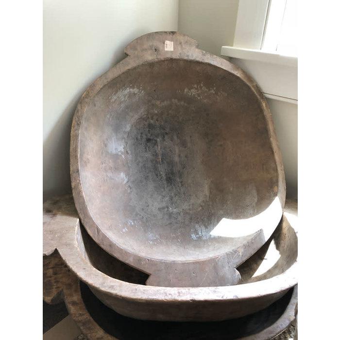 Old Wood Dough Bowl - Large