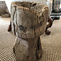 Large Wood Mortar