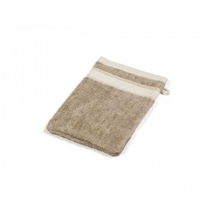 Lebeco Bath Mitt- SIMI color flax