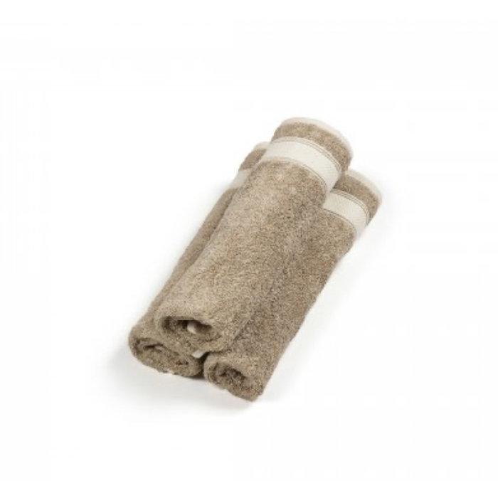 Libeco Guest Towel - SIMI color flax