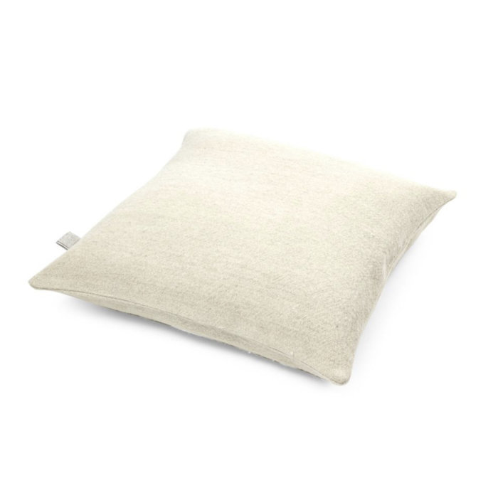 Libeco Pillow Cover - Shetland Bone - 25x25 Linen Wool