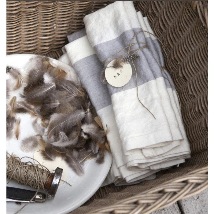 Libeco Tea Towel - Long Island Stripe