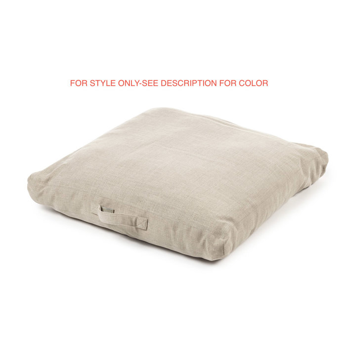 Shetland Floor Cushion - Bone Ltd. Edition