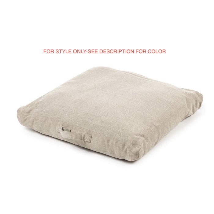 Shetland Floor Cushion - Grey