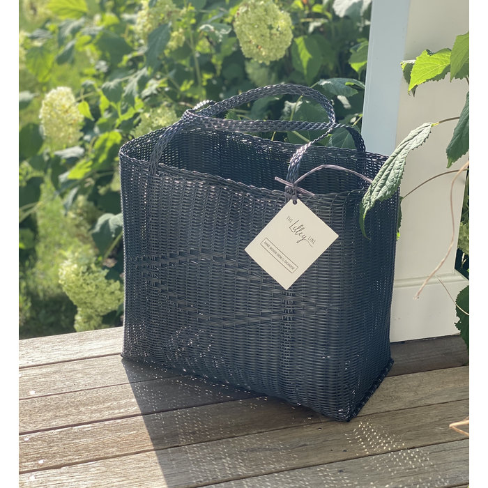 Market/Beach Tote - Dark Grey