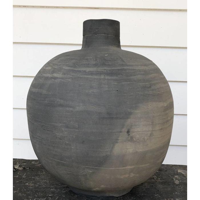 Gray Small Mouth Jar