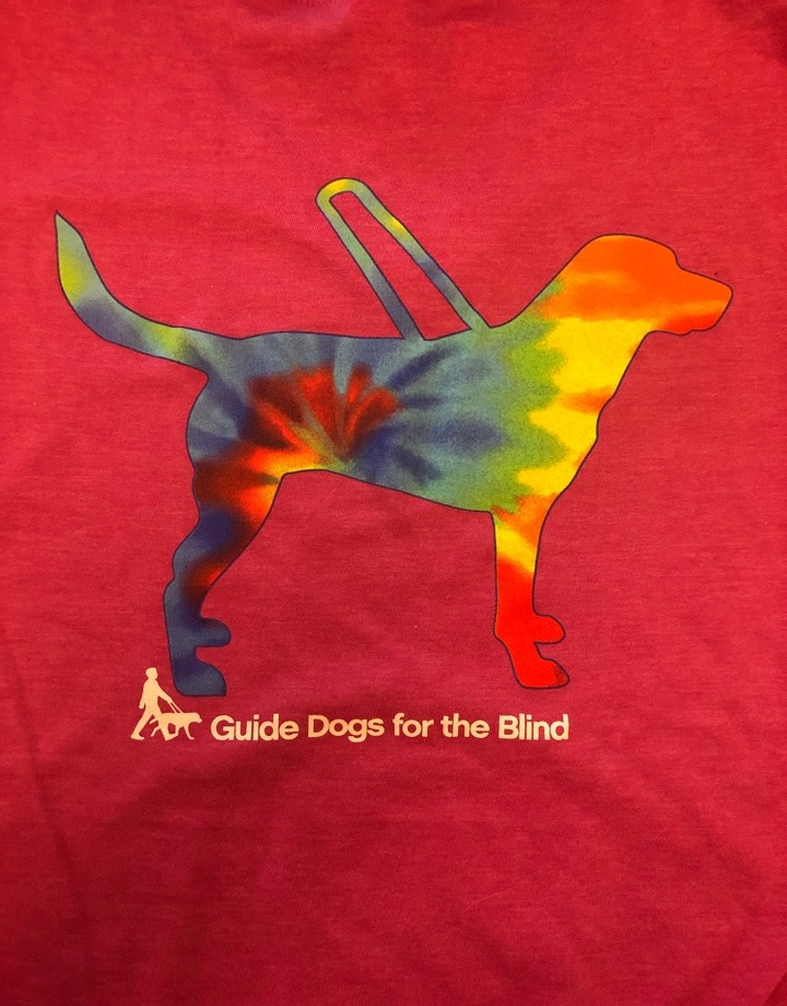 Youth Tie Dye Guide Design tee