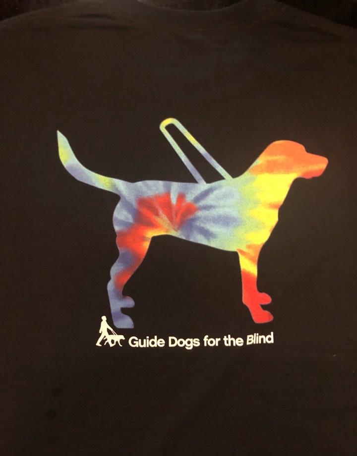 Adult Tie Dye Guide Design Tee