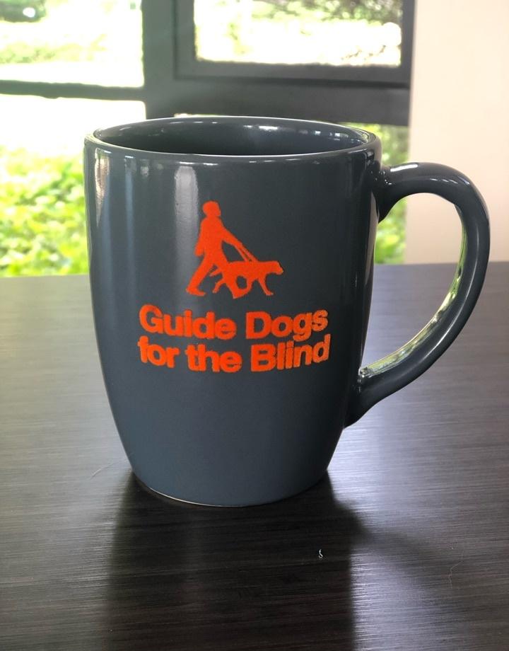 GDB mug with Velvet Logo