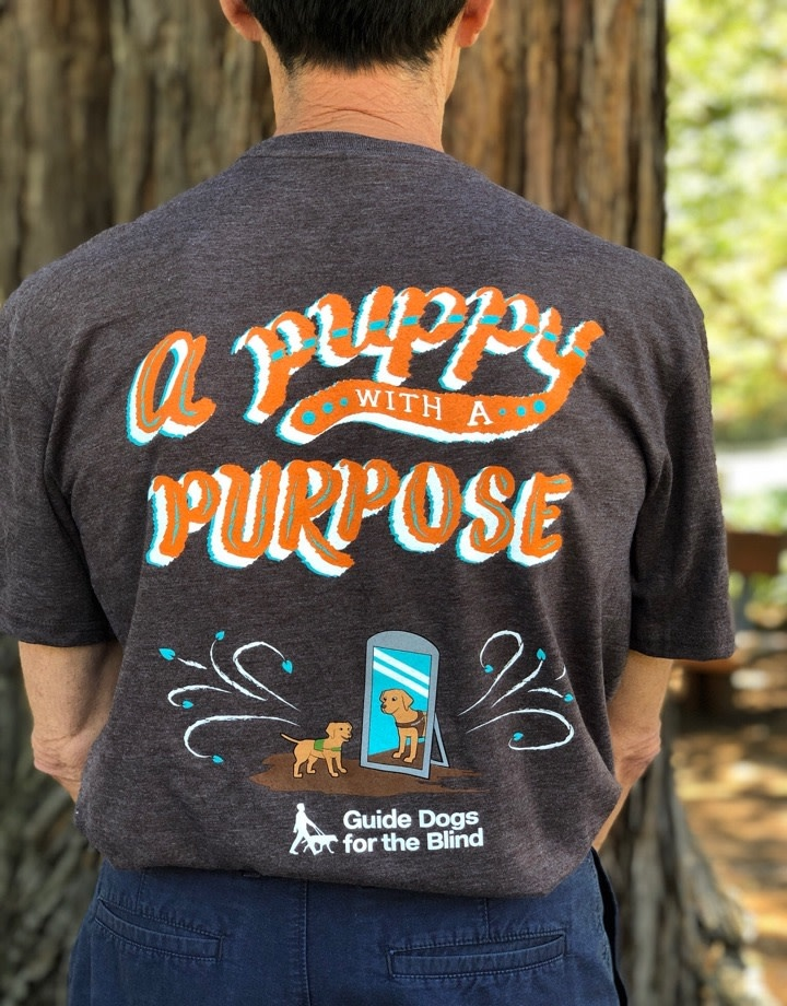 Adult Pup with Purpose Tee