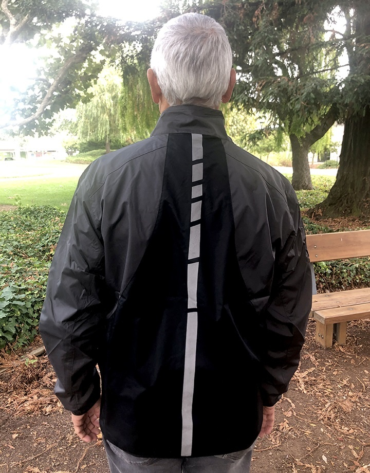Men's Reflective Windbreaker
