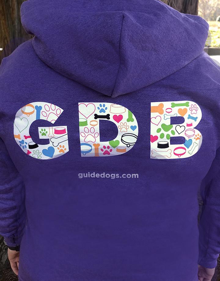Women's GDB Letters Pullover Sweatshirt