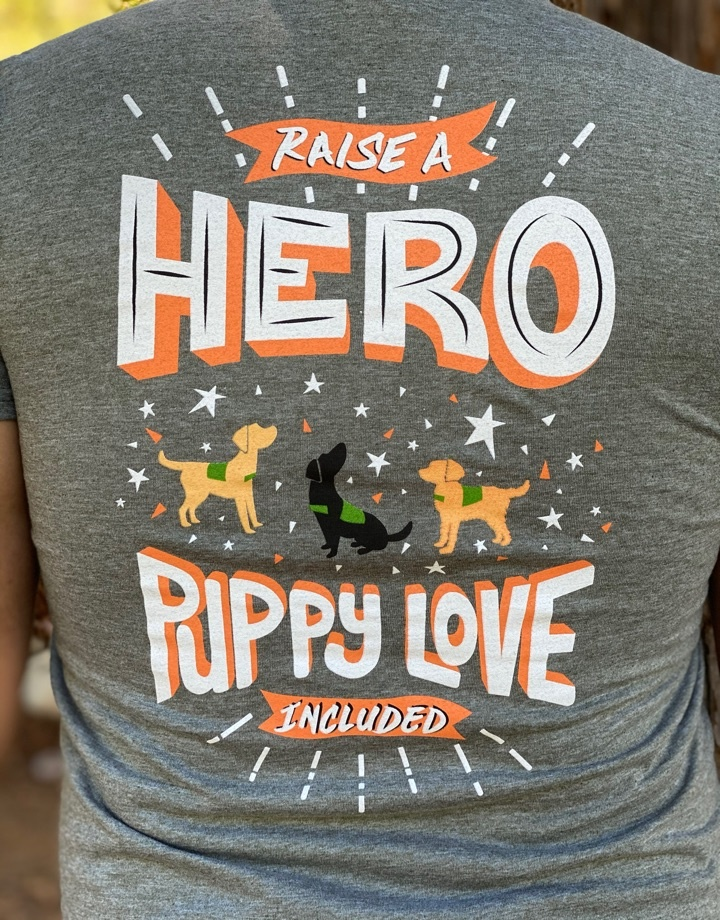 Men's Raise a Hero Crew Neck Tee