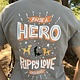 Women's Raise a Hero V Neck Tee