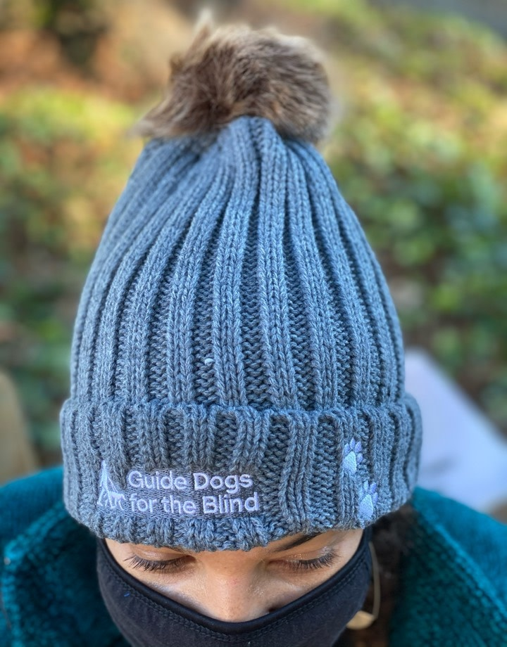 Cable Knit with Removeable Pom Beanie