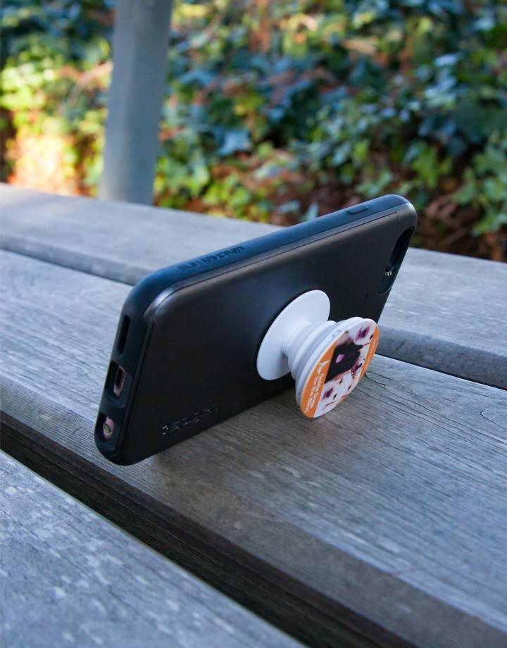 Pup Socket phone grip/kickstand