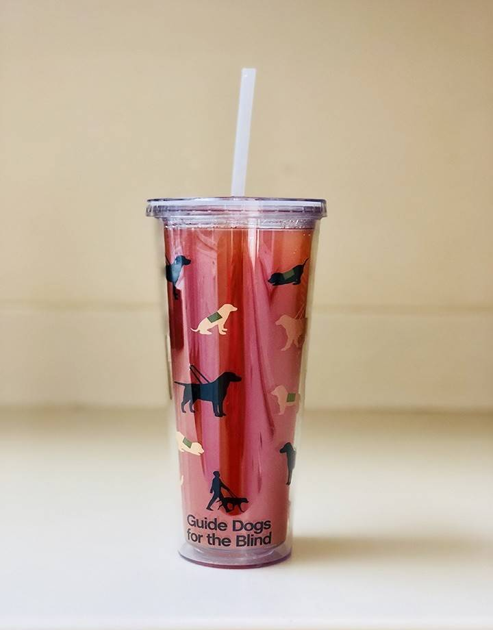 20oz pups & guides straw cup