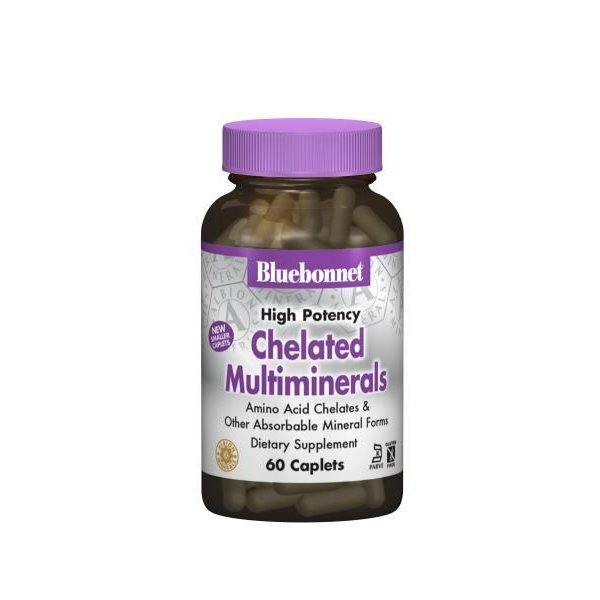 High Potency Chelated Multiminerals w/ Iron 120ct