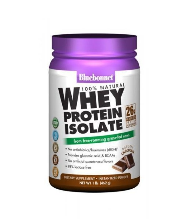 Bluebonnet Bluebonnet Whey Protein Isolate Powder Chocolate 2lb