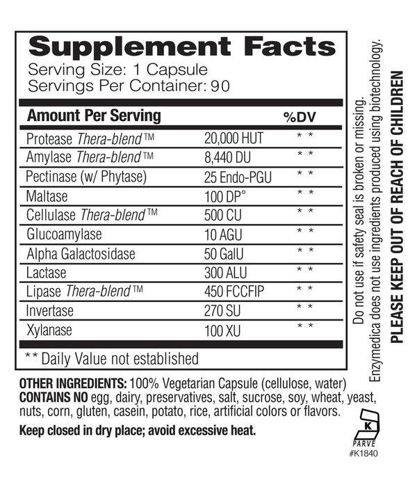 Enzymedica Digest Basic 90 ct