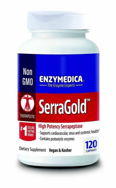 Enzymedica SerraGold 120 ct 00