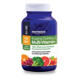 Enzymedica Enzyme Nutrition Multi-Vitamin Two Daily 60 ct
