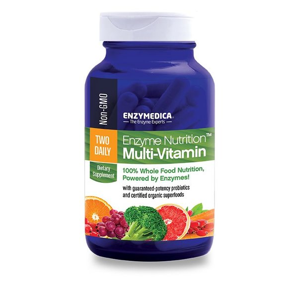 Enzyme Nutrition Multi-Vitamin Two Daily 60 ct