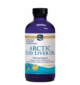 Nordic Naturals Arctic Cod Liver Oil 1050 mg 8 oz.