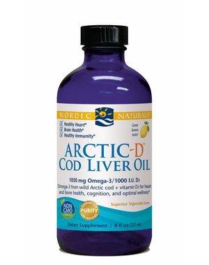 Nordic Naturals Arctic-D Cod Liver Oil 1060 mg Lemon 8oz
