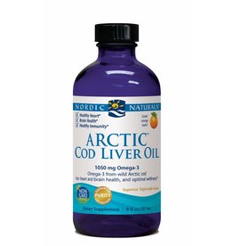 Nordic Naturals Arctic Cod Liver Oil 1050 mg Orange 8 oz