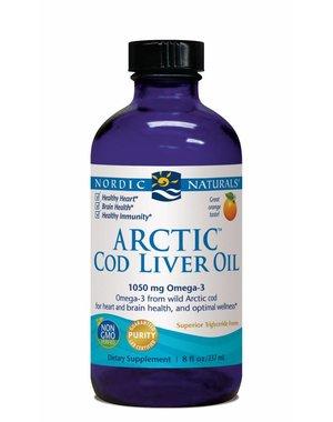 Nordic Naturals Arctic Cod Liver Oil 1060 mg Orange 8 oz