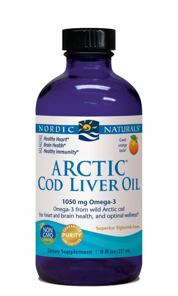 Nordic Naturals Nordic Naturals Arctic Cod Liver Oil 1050 mg Orange 8 oz
