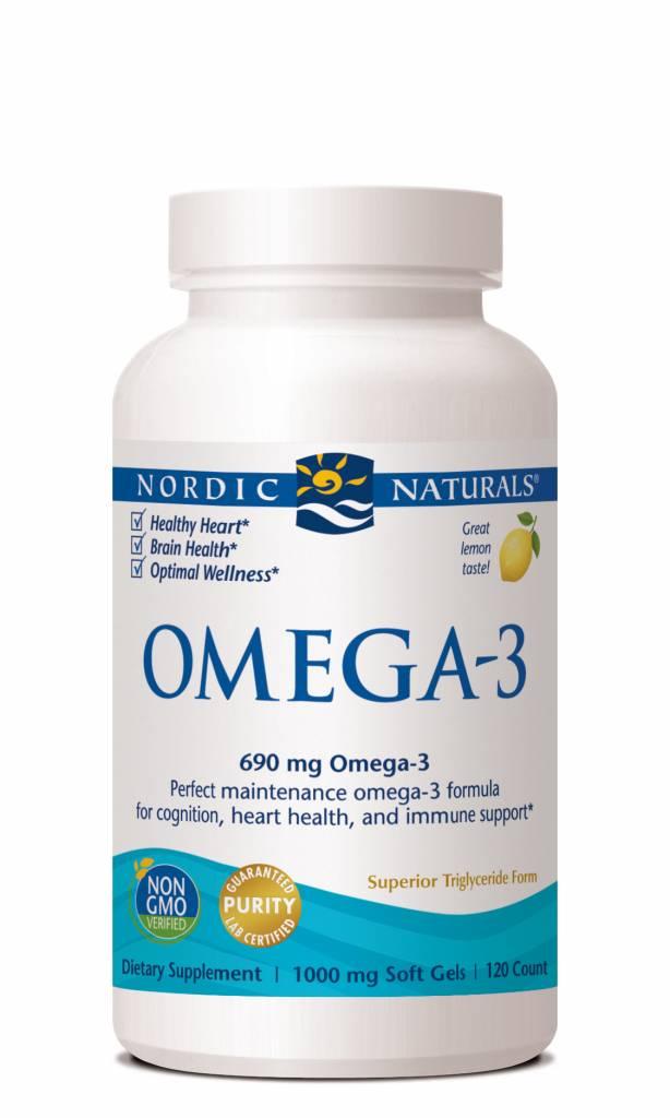 Nordic Naturals Omega-3 690 mg 120 ct