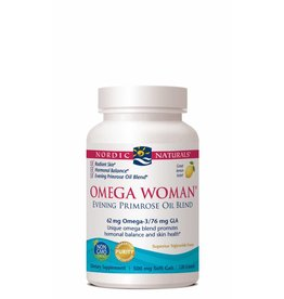 Nordic Naturals Omega Woman 62 mg 120 ct