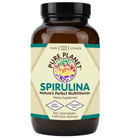 Pure Planet Spirulina 500 mg 200 ct