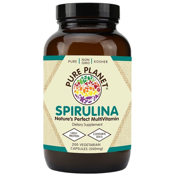 Spirulina 500 mg 200 ct