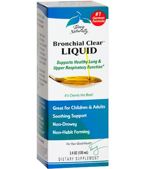 Europharma Terry Naturally Bronchial Clear Liquid 3.4 oz
