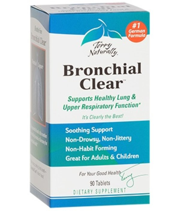 Europharma Terry Naturally Bronchial Clear 90 ct