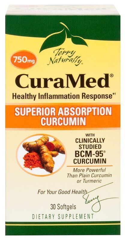 Europharma Terry Naturally CuraMed 750mg 30 ct