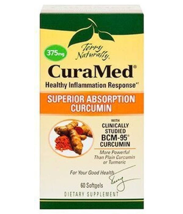 Europharma Terry Naturally CuraMed 375mg 60 Ct