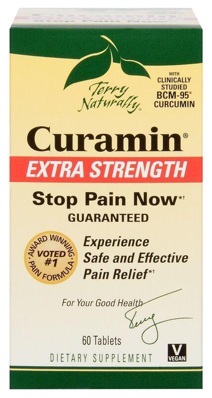 Europharma Terry Naturally Curamin Extra Strength 60 ct