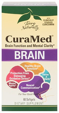 Europharma Terry Naturally CuraMed Brain 60ct