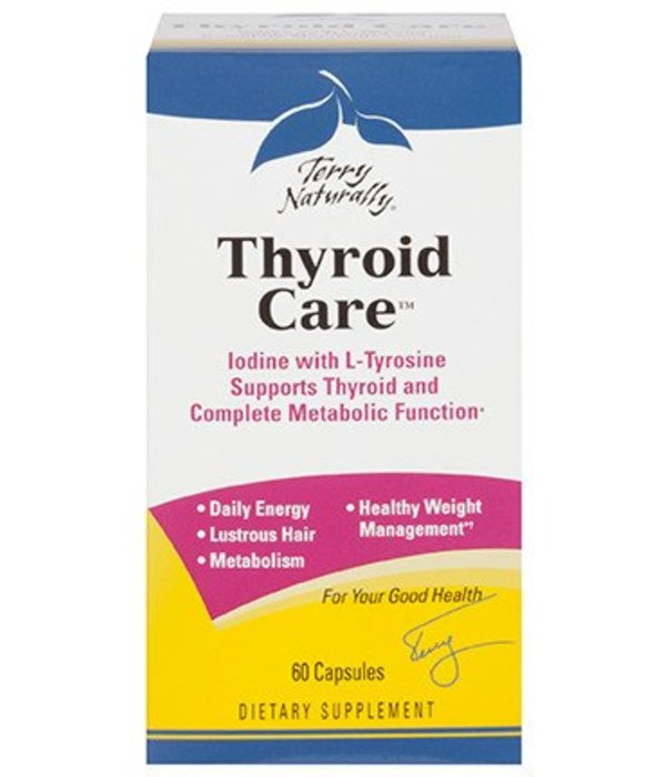 Europharma Terry Naturally Thyroid Care 60 ct